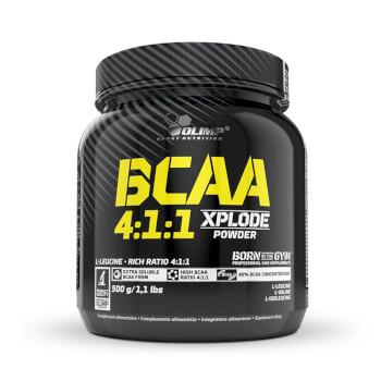 BCAA 4:1:1 Xplode Powder es una fórmula altamente soluble de aminoácidos ramificados.