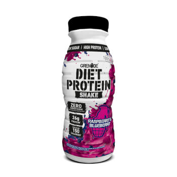 Grenade Diet Protein Shake es un delicioso batido de proteínas sin azúcar añadido.