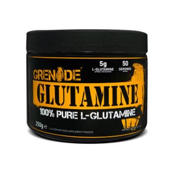 Glutamina ayuda a mejorar el rendimiento y acelerar la recuperación muscular.