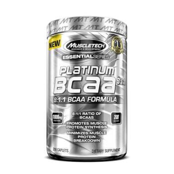 Platinum BCAA 8:1:1 ayuda con la síntesis proteica