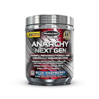 Anarchy Next Gen es un pre-entrenamiento formulado para rendir al máximo.