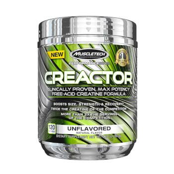 Creactor es una mezcla de creatinas.