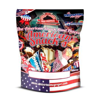 American Snacks es una harina de avena con deliciosos sabores al estilo americano.