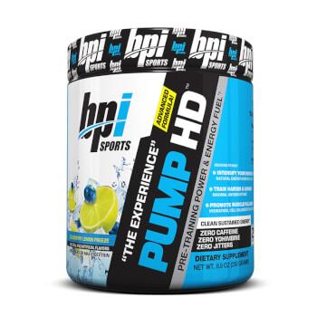 Pump-HD es un potente pre-entrenamiento.