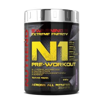 N1 Pre-Workout es una completa fórmula pre-entreno.