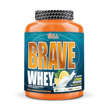 Brave Whey es una excelente proteína con creatina y glutamina.