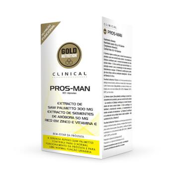 Pros-Man está diseñado para promover la salud de la próstata.