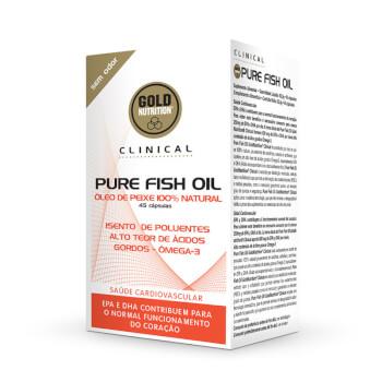 Pure Fish Oil es un complemento alimenticio fuente natural de omega 3