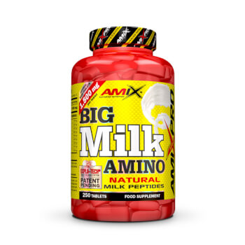 Big Milk Amino es un suplemento para no perder masa muscular.