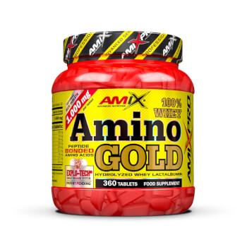 Whey Amino Gold es un suplemento para proteger la masa muscular.