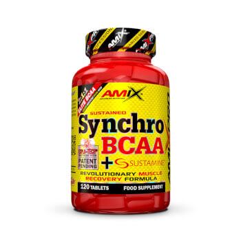 Apoya la recuperación de la masa muscular gracias a Synchro BCAA + Sustamine