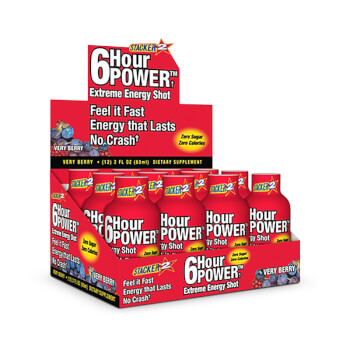 6 Hour Power es una bebida energética que te aporta un impulso extra de energía.