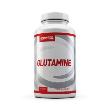 Complemento de glutamina en cómodas tabletas.
