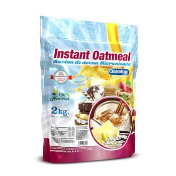 Instant Oatmeal es una harina de avena micronizada y de fácil disolución.