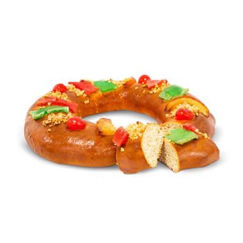 Roscón de Reyes Proteico contiene un alto contenido en proteínas.