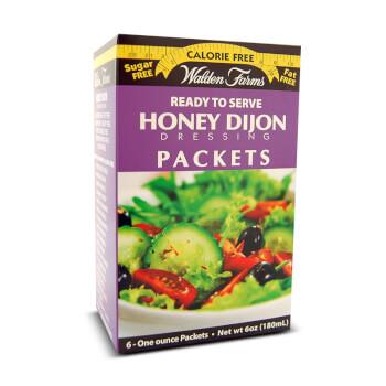 Salsa de mostaza sin calorías Honey Dijon Dressing