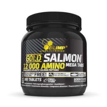Gold Salmon 12000 Amino es una fórmula de aminoácidos de alta biodisponibilidad.