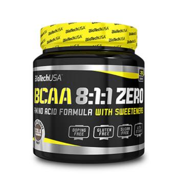 Bcaa 8:1:1 Zero contiene aminoácidos ramificados.