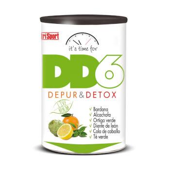 DD6 Depur & Detox contiene ingredientes con propiedades depurativas y diuréticas.