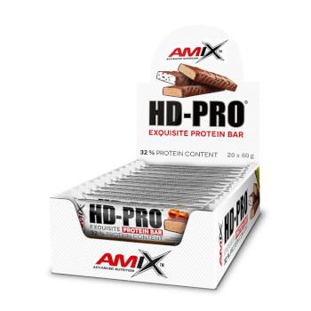 Las barritas HD-Pro de Amix contienen un 32% en proteínas.