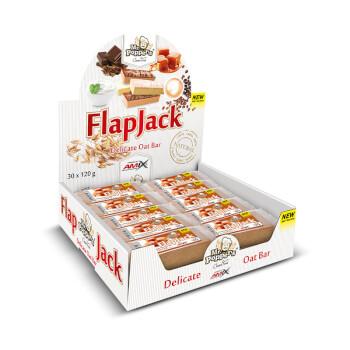 Las barritas FlapJack están elaboradas a base de copos de avena.