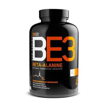 Reduce la fatiga muscular para potenciar tus entrenamientos con BE3 Beta-Alanine.