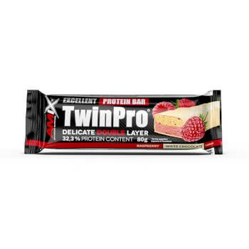 Las barritas TwinPro de Amix contienen más de un 30% en proteínas.