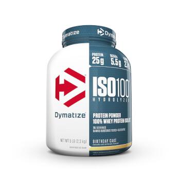 Iso 100 Hydrolyzed es una proteína aislada de suero hidrolizada.