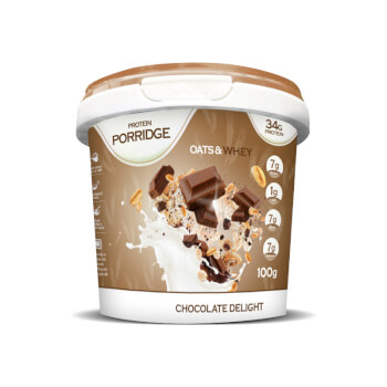 Protein Porridge Chocolate Delight alimenta tu activo estilo de vida.