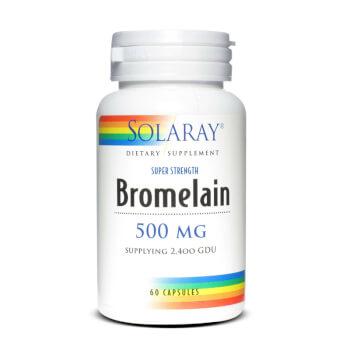 BROMELAÍNA 500mg - SOLARAY - ¡Mejora tu digestión!