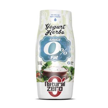 Dale sabor a tus platos con Yogurt Herbs de Natural Zero, tu salsa sin grasas ni gluten.