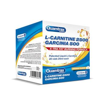 La L-Carnitina 2500 Garcinia 500 de Quamtrax es tu aliado contra la grasa.