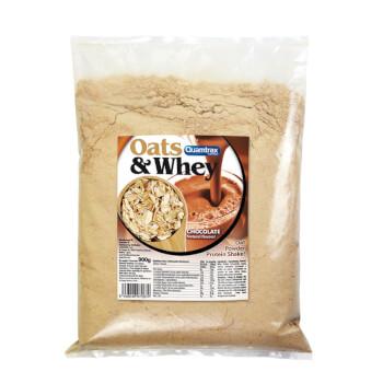 Oats and Whey es un batido de avena y proteína de suero.