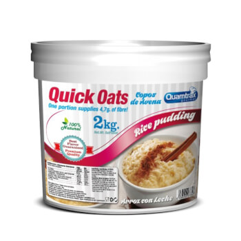 Quick Oats es un batido de avena 100% natural.