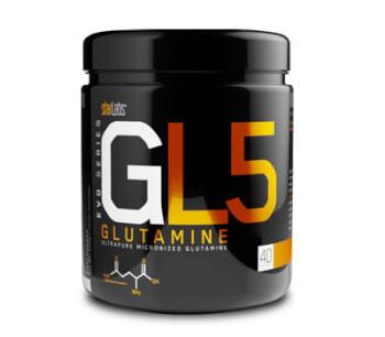 GL5 Glutamine potencia tu recuperación.
