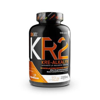 Incrementa la masa muscular y la fuerza con KR2 Kre-Alcalyn.