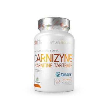 Carnizyne L-Carnitina de grado farmacéutico.