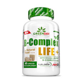 B-Complex LIFE-FORTE+ cubre los requerimientos diarios de las vitaminas B.
