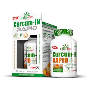 Curcum-IN Rapid contiene extracto de cúrcuma patentado.