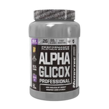 Alpha Glicox Professional te aporta energía antes, durante y después de entrenar.