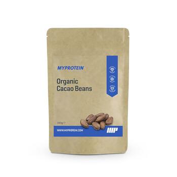 Granos de Cacao Orgánicos de Myprotein excelente fuente de fibra y hierro.