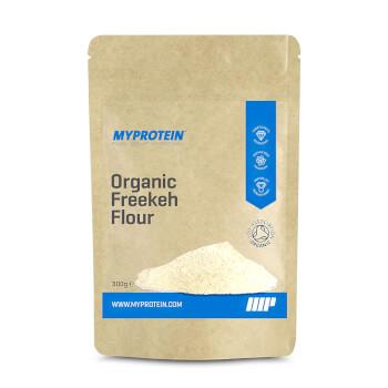 La Harina de Trigo Freekeh Orgánica de Myprotein aporta energía y fibra a la dieta.