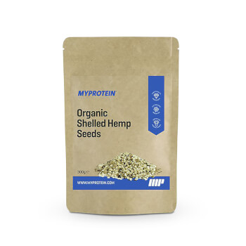 Semillas de Cáñamo Orgánicas sin Cáscara de Myprotein, ¡100% orgánicas!