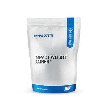 Aumenta de masa muscular con Impact Weight Gainer de Myprotein.
