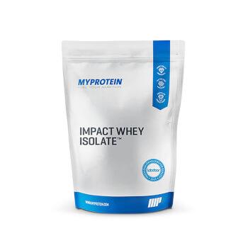 Impact Whey Isolate de Myprotein ¡más del 90% en proteína!