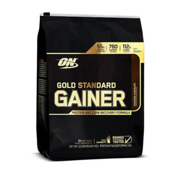 Gold Standard Gainer potencia el aumento de peso y masa muscular.