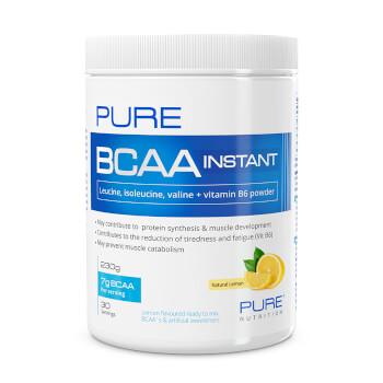 BCAA Instant aporta aminoácidos ramificados de origen vegetal con ratio 2:1:1.