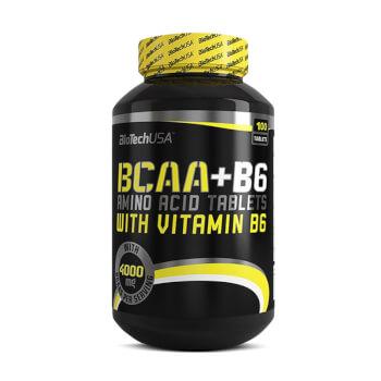 Conserva tu masa muscular y evita el catabolismo con BCAA + B6.