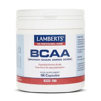 Protege tus músculos con BCAA de Lamberts.