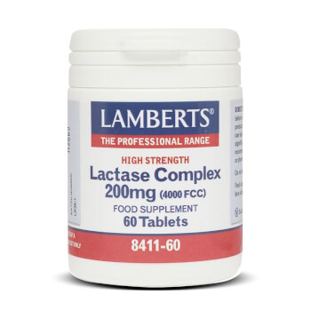 Complejo Lactasa - Lamberts - Favorece la digestión de la lactosa